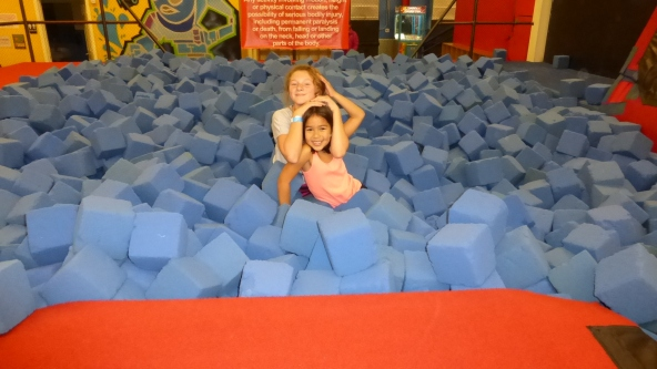 Foam Pit at Jump Place