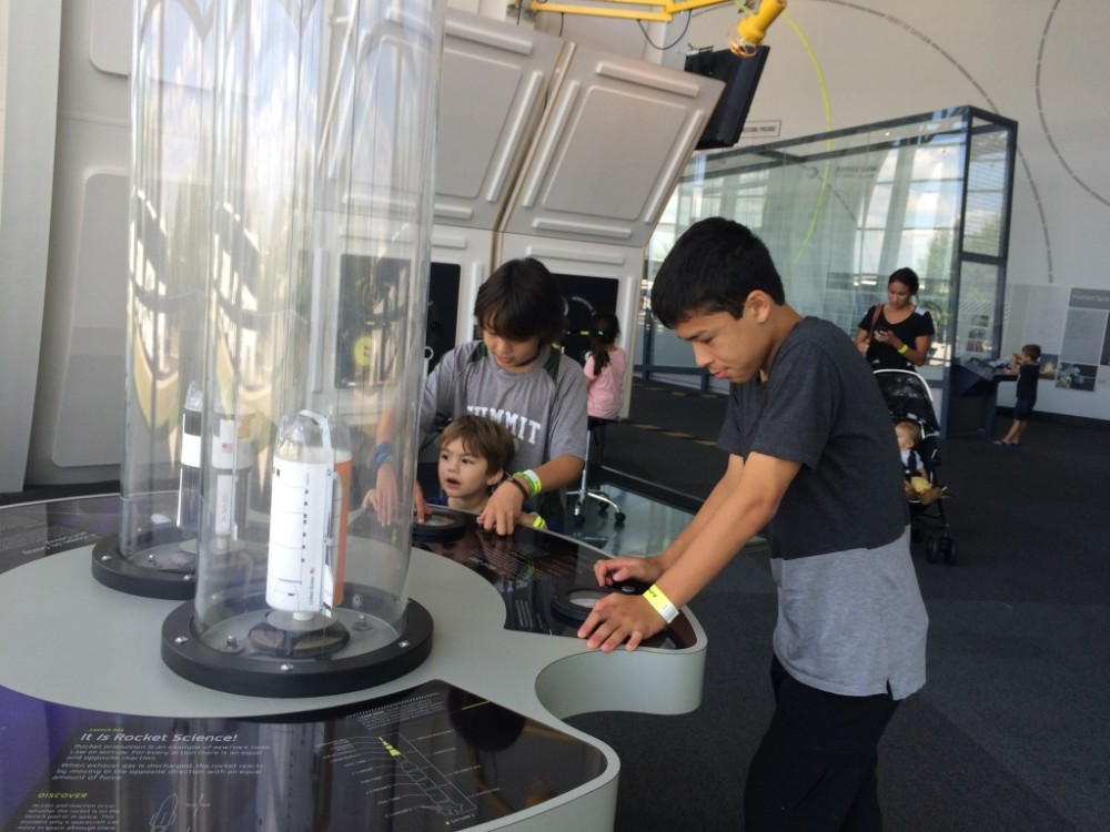 Fun time at Science Center
